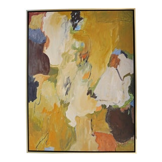 """""""Holes in the Rock, St. Remy"""" Abstract Painting by Laurie MacMillan For Sale"""