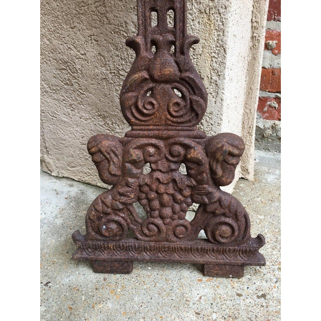 ~Finally we have more of these amazing antique French cast iron cemetery crosses!!~ ~Ornate open designs, with all the...