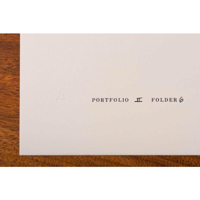 Mid-Century Modern Josef Albers Diptych Silkscreen No. 6 Portfolio II For Sale - Image 3 of 6