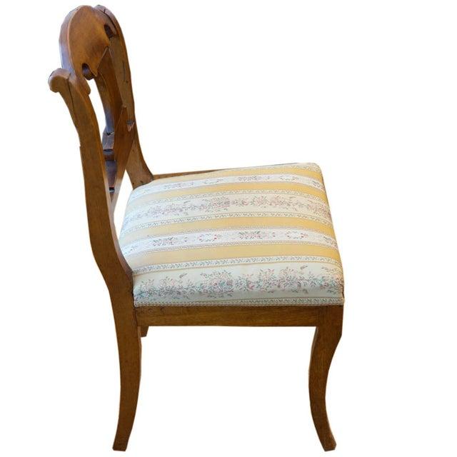Mid-Century Modern Single Biedermeier Chair For Sale - Image 3 of 7