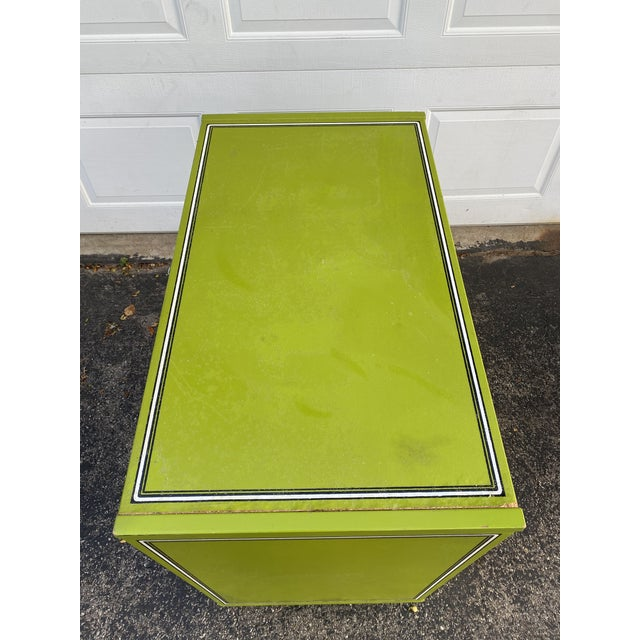 Mid 20th Century Drexel Peter Max Inspired Small Dresser For Sale In Milwaukee - Image 6 of 12