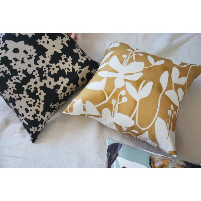 20x20 Pillow cover, entirely made in the USA! Fabric designed by artist Kate Roebuck, printed in North Carolina on...
