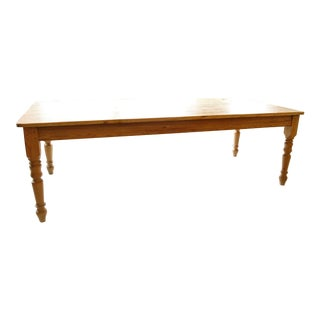 Country Pine Farm Table For Sale