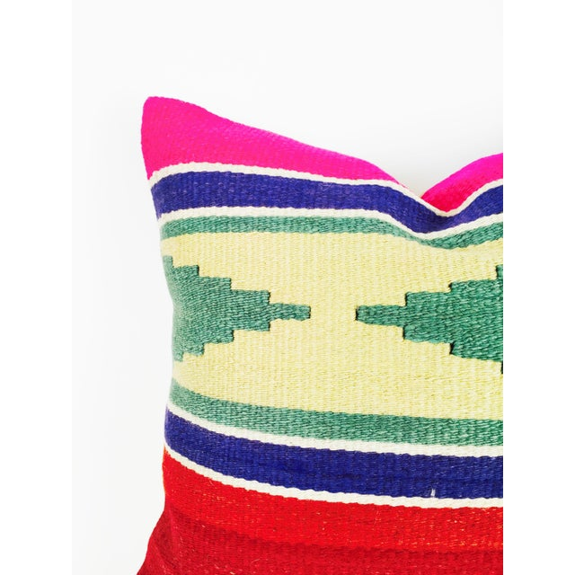 Vintage Square Kilim Pillowcase - Image 2 of 4
