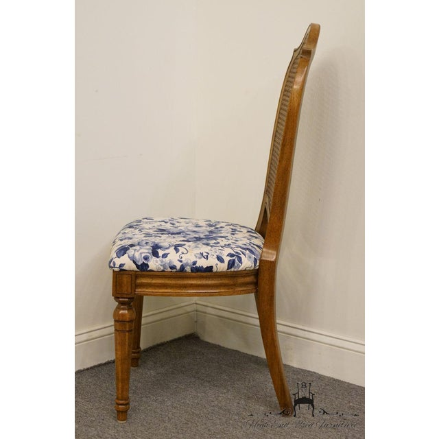 Thomasville Furniture Tapestry Collection Cane Back Dining / Side Chair For Sale - Image 9 of 12