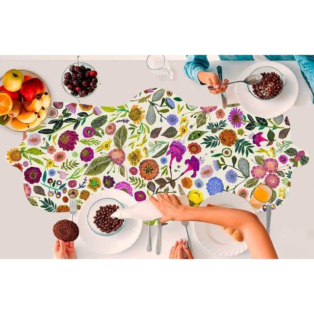 The Wildflowers Table Runner Brunch in the woodland flower fields at the comfort of your own home with Eli Halpin's floral...