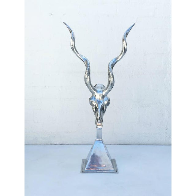 Polished Aluminum Sculpture by Arthur Court - Image 9 of 10