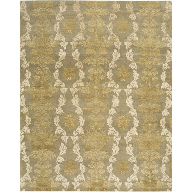 Mid-Century Modern Blend Collection - Customizable Cedar Rug (8x10) For Sale - Image 3 of 3