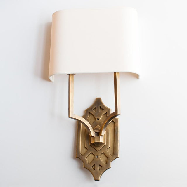 2010s Thomas O'Brien Silhouette Fretwork Sconce for Visual Comfort For Sale - Image 5 of 5