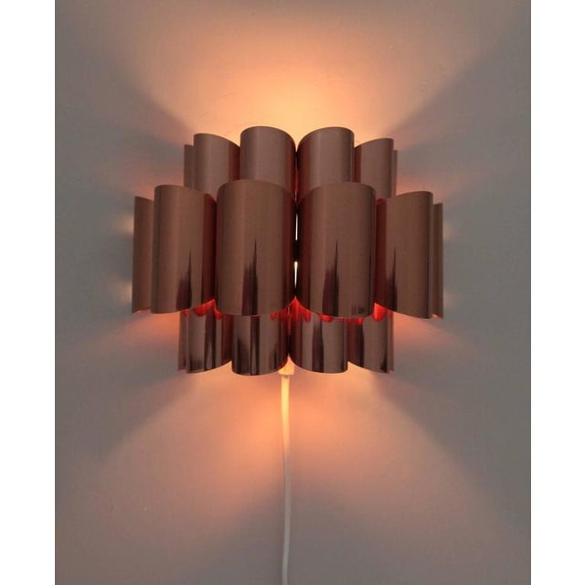 Pair of Copper Sconces of Wall Lights by Verner Schou For Sale - Image 6 of 6