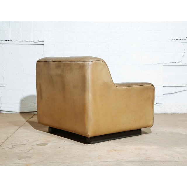 Vintage 70's De Sede DS-43 Lounge Chair For Sale - Image 5 of 11