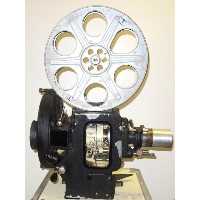 Art Deco Motion Picture 35mm Theatre Projector 1922 Design, Complete Head Hollywood Relic For Sale - Image 3 of 11