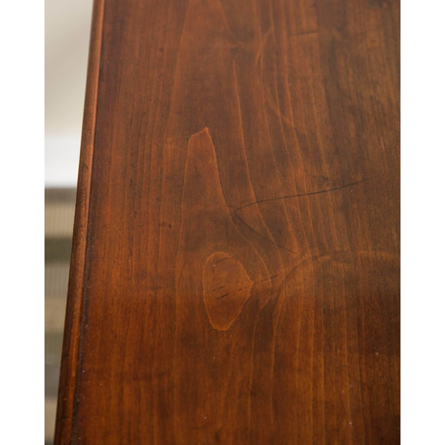 19th Century Neoclassical Directoire Mahogany Trestle Table For Sale - Image 9 of 10