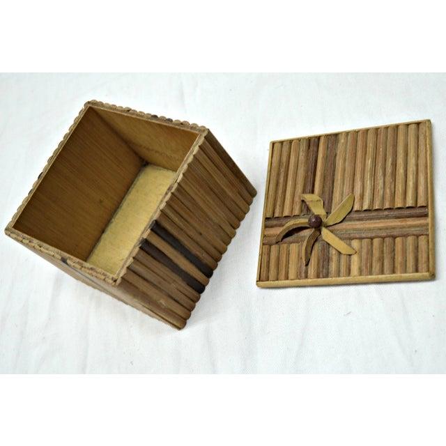 Rustic Wooden Stick Cigarette Box - Image 6 of 9