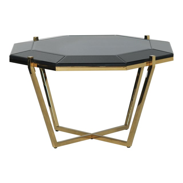 Hollywood Regency Style Coffee Table - Image 1 of 3