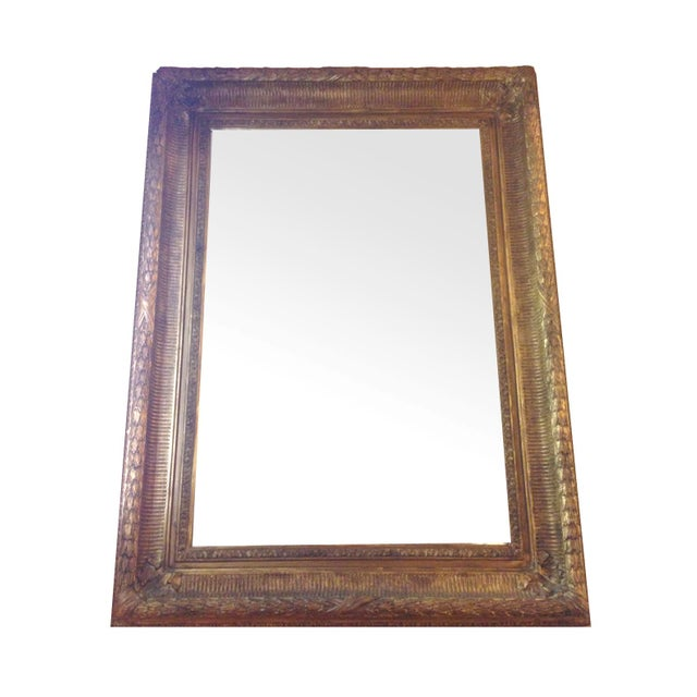 Neoclassical Gilt Composition Mirror For Sale