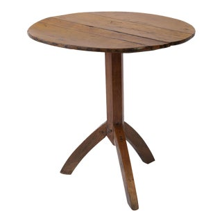 Charming Fruitwood Table Du Vigneron For Sale