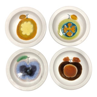 Atelier Rabiusla Herrliberg Decorative Plates - Set of 4 For Sale