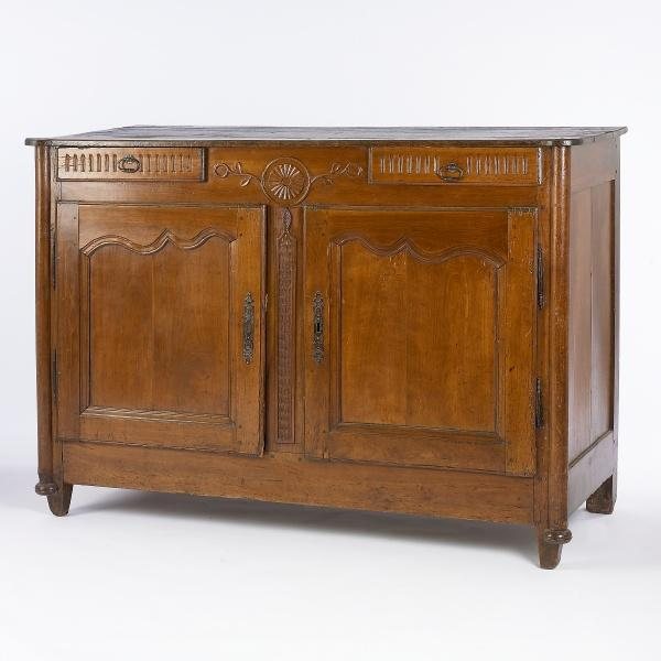 1880's French Buffet with Carving Details - Image 2 of 4