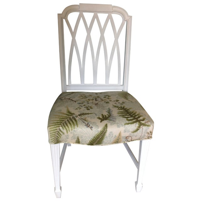 Vintage Painted Side Chair - Image 1 of 5