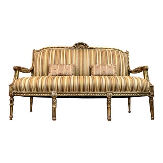 Vintage Louis XV Style Settee For Sale
