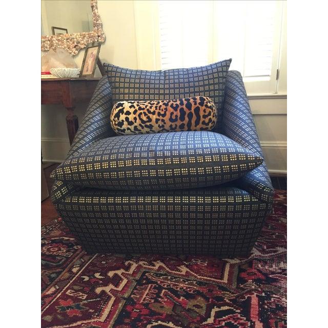 Kelly Wearstler Modern Armchairs - Pair - Image 3 of 8