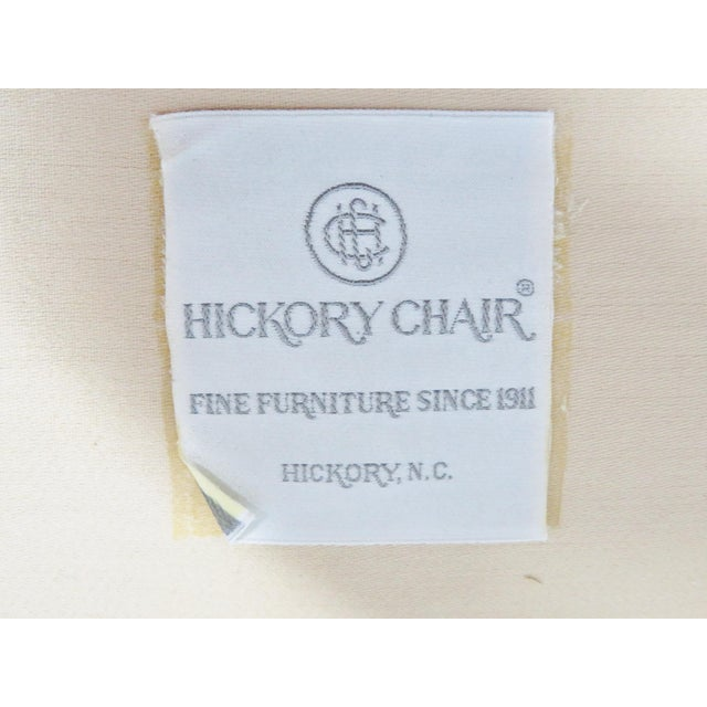 Late 20th Century Hickory Chair Co. Mahogany Satinwood Settee For Sale - Image 5 of 8