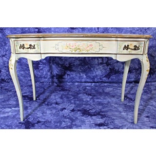 Venetian Hand Painted Vanity Table & Chair - A Pair Preview