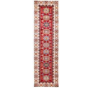 "One-of-a-Kind Traditional Hand-Knotted Runner 2' 9"" x 9' 10"" For Sale"