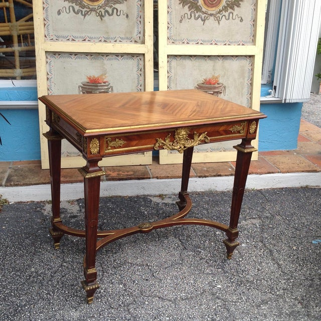 Fine French Ladies Writing Table For Sale - Image 13 of 13