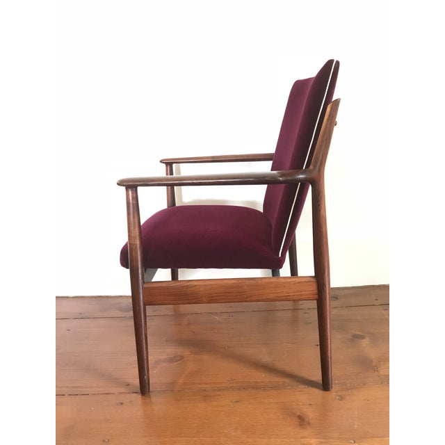 Mid-Century Modern Arne Vodder Rosewood Model 431 Chair For Sale - Image 3 of 9