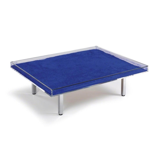Yves Klein Table Bleue Blue For Sale - Image 11 of 11