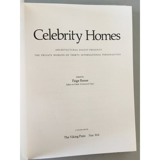 Architectural Digest Book: Celebrity Homes, 1st Ed - Image 4 of 8