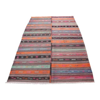 Multi Color Decorative Kilim - 10' 4'' x 6' 5''