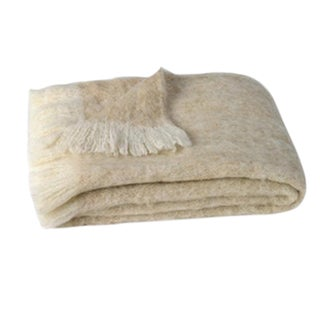 Sand Brushed Alpaca Throw For Sale