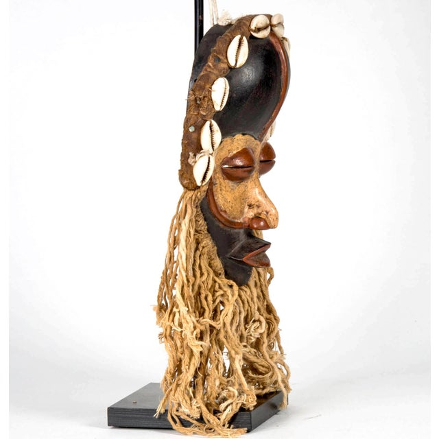 Dan People of Liberia Gold and Black Mask For Sale - Image 5 of 7