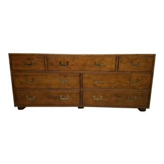 1960s Campaign Henredon Dresser For Sale