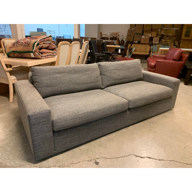 Design Plus Gallery presents a Modern sofa by Room & Board. Manufactured by McCreary Furniture with a pair of loose seat...