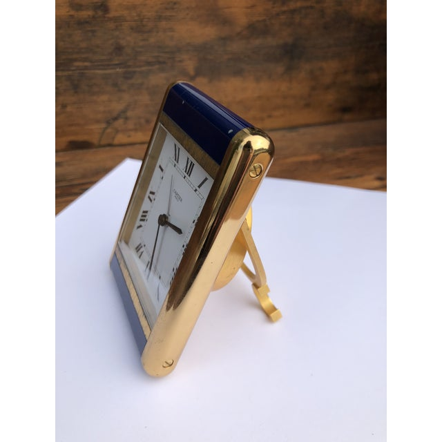 Cartier Paris Travel Clock For Sale - Image 12 of 13