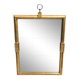 Mid-Century Tommi Parzinger Hollywood Regency Gilt Wood Mirror For Sale