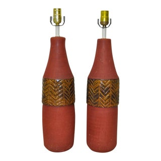 1950s Italian Table Lamps by Raymor - a Pair