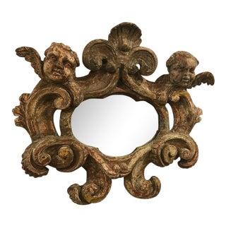 Italian Baroque Style Painted Mirror