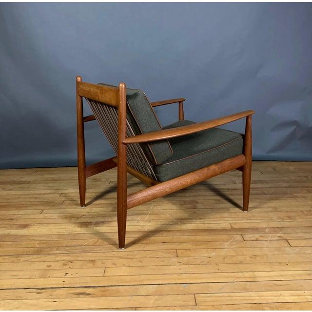 Mid-Century Modern 1950s Grete Jalk Armchair, France & Deverkosen, Denmark For Sale - Image 3 of 12