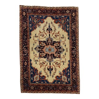 "8'8"" X 12'4"" 20yr Old Serapi Large Area Rug For Sale"