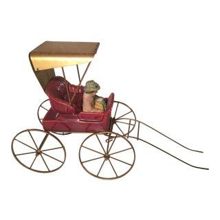 Vintage Victorian Buggy Figurine
