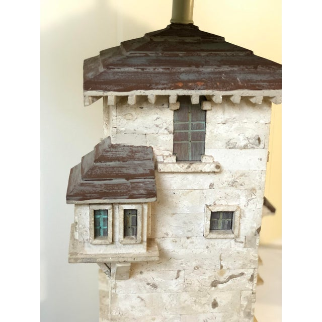 Hollywood Regency Pair of Mediterranean Villa Table Lamps For Sale - Image 3 of 10