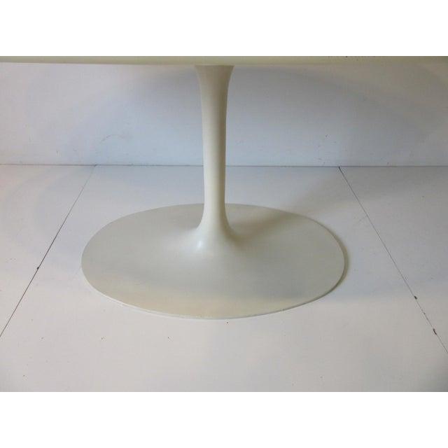 Burke Tulip Desk / Dining Table for Burke International For Sale - Image 9 of 11