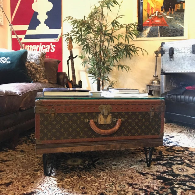 Lv Trunk Coffee Table: Louis Vuitton Alzer 70 Trunk Coffee Table