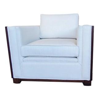 Thomasville Furniture Ernest Hemingway Moncado Mahogany Living Room Chair For Sale