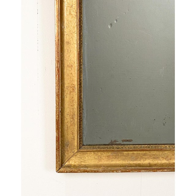French Gilt Wood Mirror France Circa 19th Century For Sale - Image 3 of 5